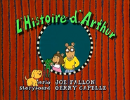 Arthur Writes a Story French