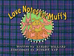 Love Notes for Muffy Title Card