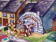 Santa's Igloo exterior