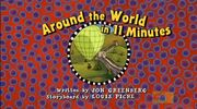 Around the World in 11 Minutes - title card