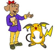 Fern and raichu