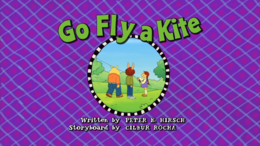 Go Fly a Kite Title Card