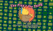 The Play's the Thing title card 2