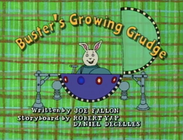 Buster's Growing Grudge Title Card