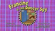 Francine Soccer Spy card