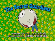 The Secret Guardians title card