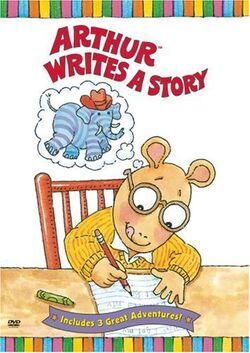 Arthur Writes a Story DVD