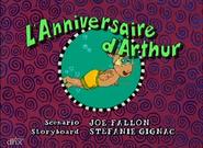Arthur's Birthday French