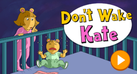 Don't Wake Kate new title screen