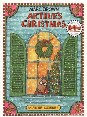 Arthur's Christmas Original Cover