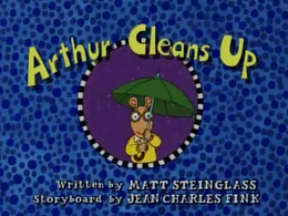Arthur Cleans Up Title Card