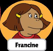 Francine's Tough Day Francine head