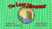 The Lost Dinosaur title