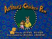Arthur's Chicken Pox Title Card