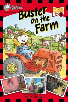 Buster on the Farm cover