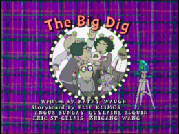 The Big Dig Title Card