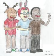 George, Carl, and Demetre February 25, 2020
