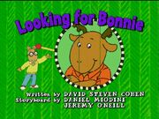Looking for Bonnie - title card