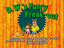 D.W.'s Furry Freak-out - title card