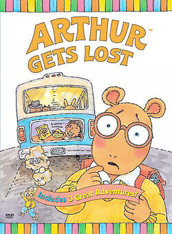 Arthur Gets Lost DVD