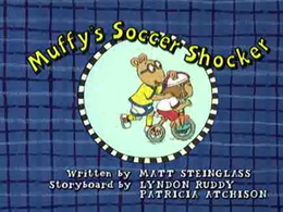 Muffy's Soccer Shocker Title Card