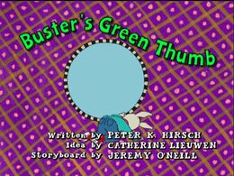 Buster's Green Thumb title card