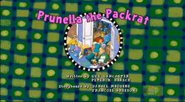 Prunella the Packrat - title card