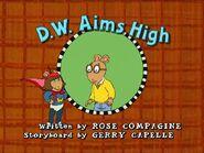 D.W. Aims High Title Card