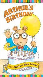 Arthur's Birthday VHS