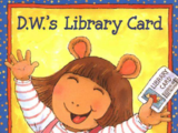 D.W.'s Library Card (book)