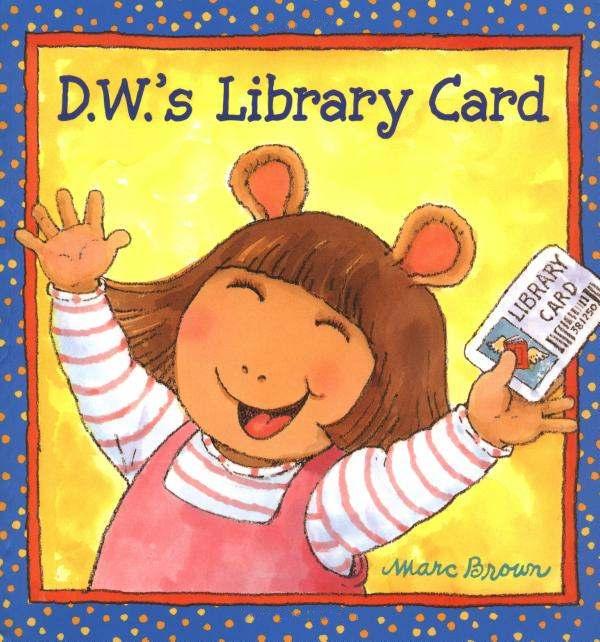 dws library card book