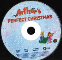 Arthur's Perfect Christmas 2012 DVD