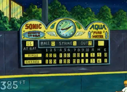 Elwood city stadium scoreboard