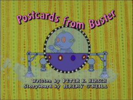 Postcards from Buster Title Card