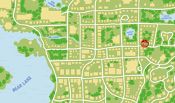 Map - Fern's House