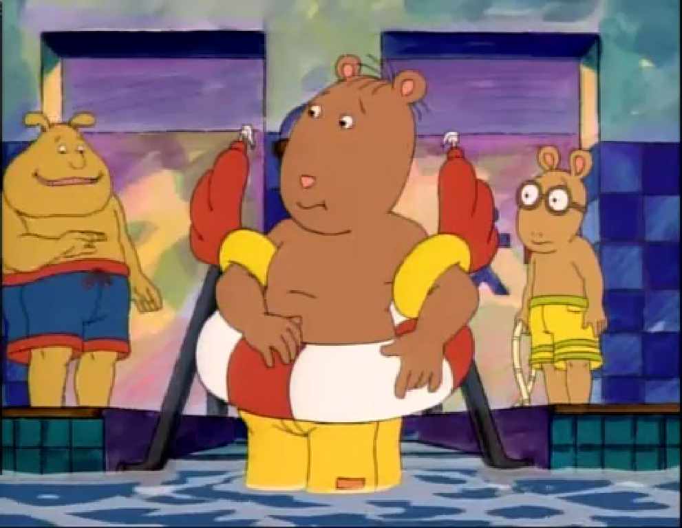 Water and the brain arthur wiki fandom powered by wikia for Community tv show pool episode