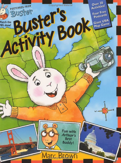 busters activity book