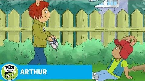 ARTHUR Bud's Shoe Tying Lesson PBS KIDS