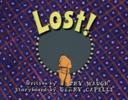 Lost! Title Card