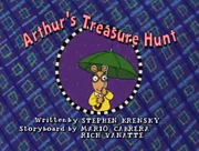 Arthur's Treasure Hunt Title Card