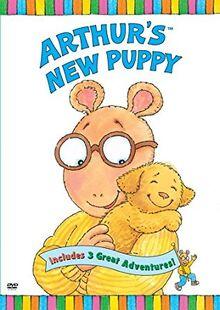 Arthur's New Puppy DVD