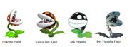 Piranha Plant Family