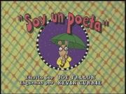 I'm a Poet Spanish