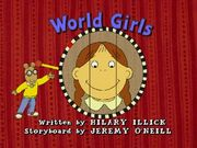 World Girls Title Card