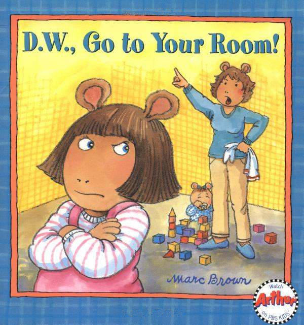 Go To Your Room Dw Book