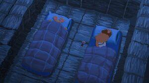 Arthur and Ryder sleeping
