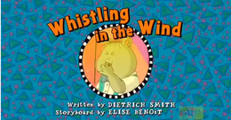Whisting in the Wind Title Card