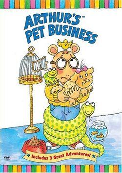 Arthur's Pet Business DVD