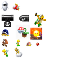 Super Mario Bros Enemies