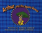 Arthur and the Square Dance Title Card